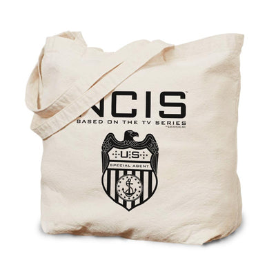 NCIS Special Agent Badge Canvas Tote Bag