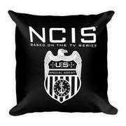 NCIS Special Agent Badge Throw Pillow