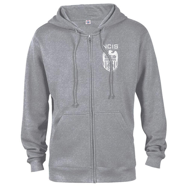 NCIS Special Agent Badge Zip Up Hooded Sweatshirt | Official CBS Entertainment Store