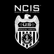 NCIS Special Agent Badge Zip Up Hooded Sweatshirt