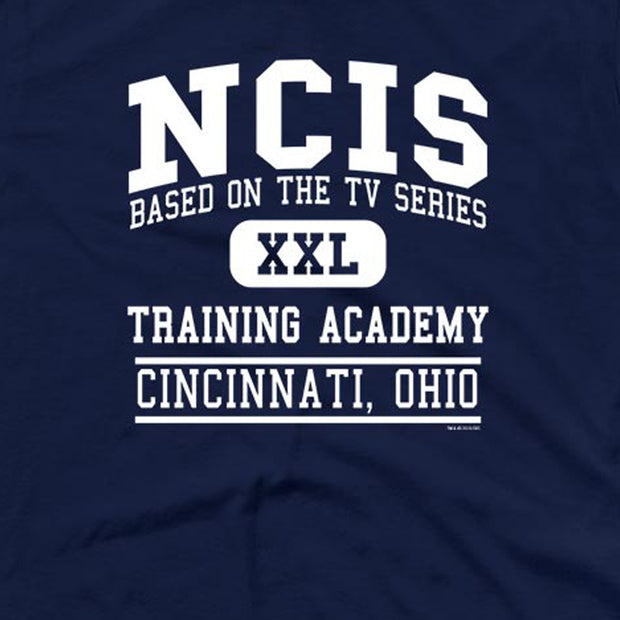 NCIS Training Academy Personalized Adult Short Sleeve T-Shirt | Official CBS Entertainment Store