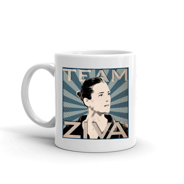 NCIS Team Ziva White Mug