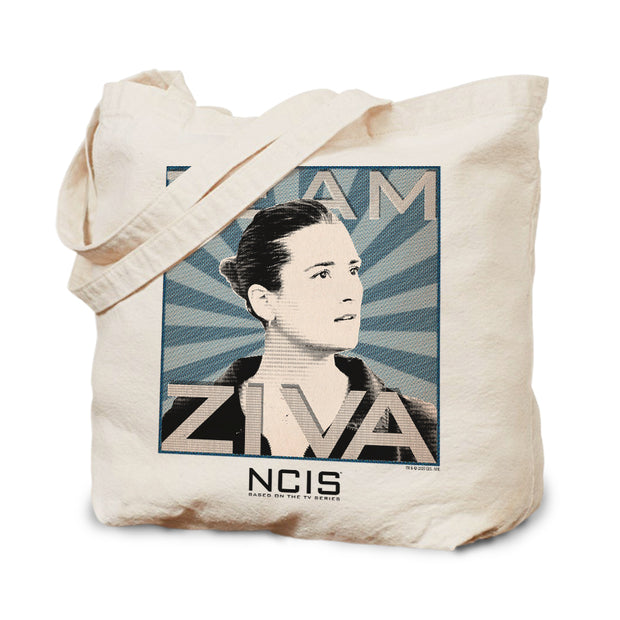 NCIS Team Ziva Canvas Tote