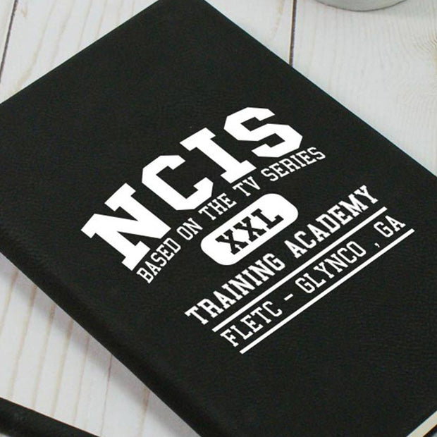 NCIS Training Academy Leather Notebook | Official CBS Entertainment Store