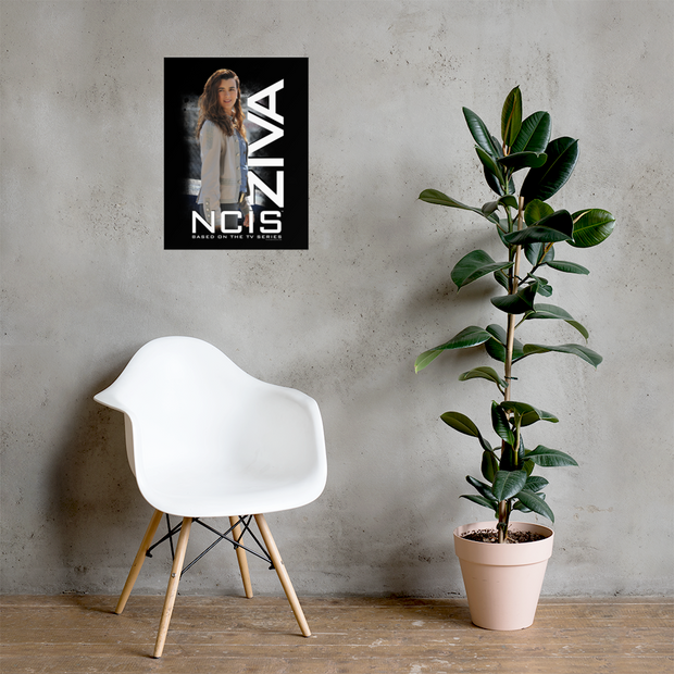 NCIS Ziva Premium Satin Poster | Official CBS Entertainment Store