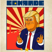"Our Cartoon President Comrade Premium Poster - 18"" x 24"" 