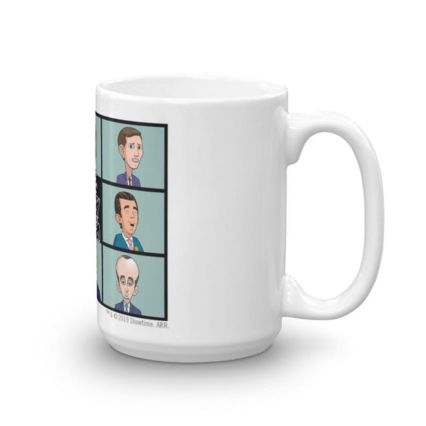 Our Cartoon President Shady Bunch White Mug | Official CBS Entertainment Store