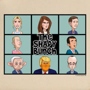 Our Cartoon President Shady Bunch Tote Bag | Official CBS Entertainment Store