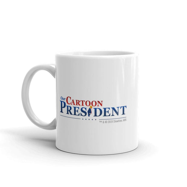 Our Cartoon President Tweet White Mug | Official CBS Entertainment Store