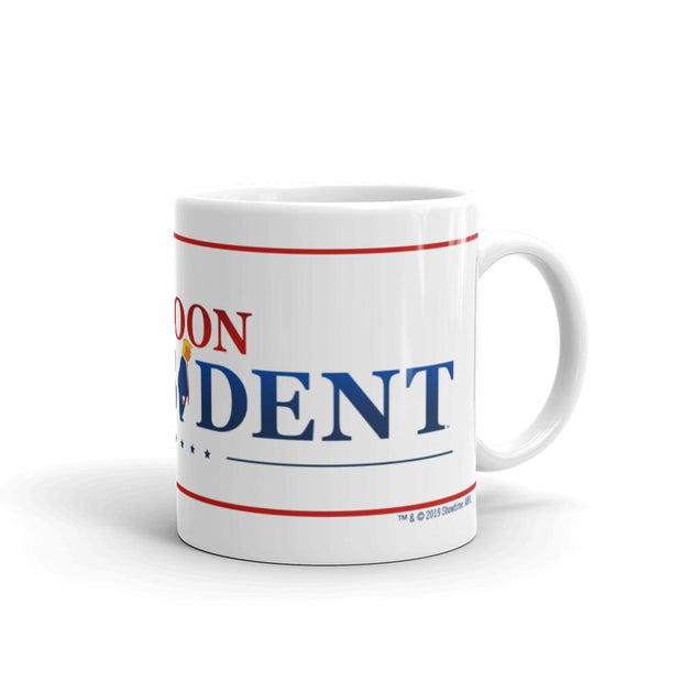 Our Cartoon President Logo White Mug | Official CBS Entertainment Store