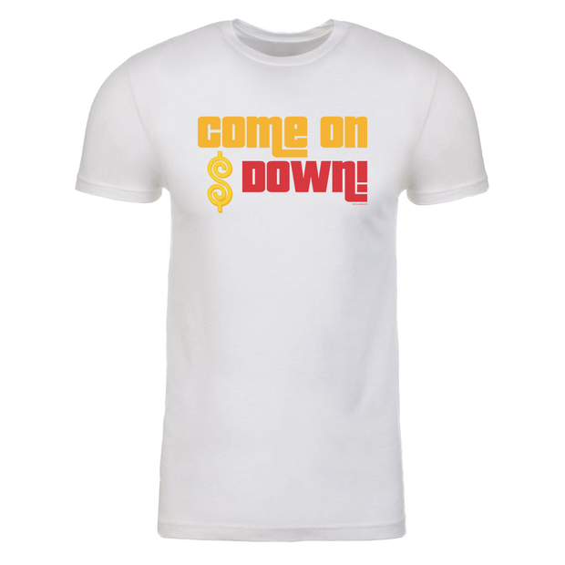 The Price is Right Come on Down Adult Short Sleeve T-Shirt