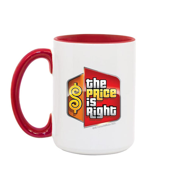 The Price is Right Logo Two-Tone Mug | Official CBS Entertainment Store