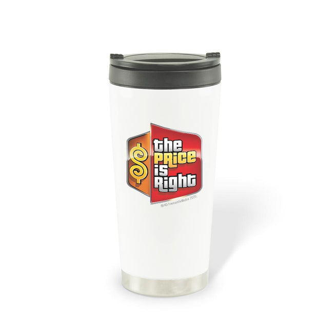 The Price is Right Logo 16 oz Stainless Steel Thermal Travel Mug