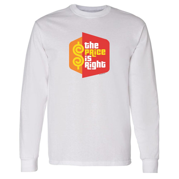 The Price is Right Logo Adult Long Sleeve T-Shirt | Official CBS Entertainment Store