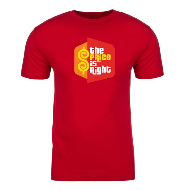 The Price is Right Logo Adult Short Sleeve T-Shirt | Official CBS Entertainment Store