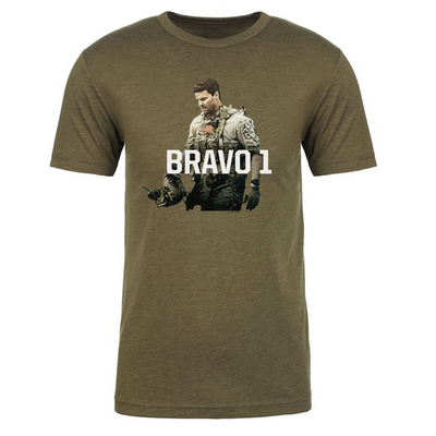 SEAL Team Bravo 1 Men's Tri-Blend T-Shirt