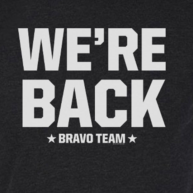 SEAL Team We're Back Men's Tri-Blend T-Shirt | Official CBS Entertainment Store