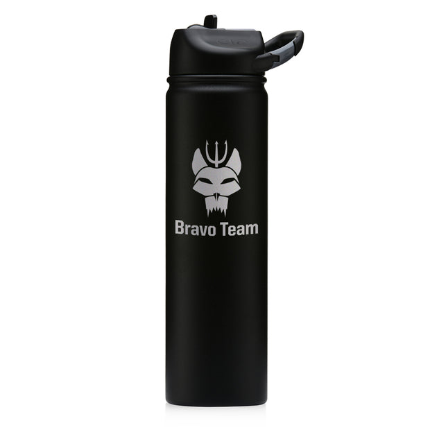 SEAL Team Bravo Laser Engraved SIC Water Bottle | Official CBS Entertainment Store