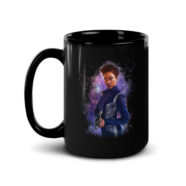 Star Trek: Discovery Burnham Black Mug | Official CBS Entertainment Store