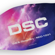 Star Trek: Discovery DSC Washable Face Mask | Official CBS Entertainment Store