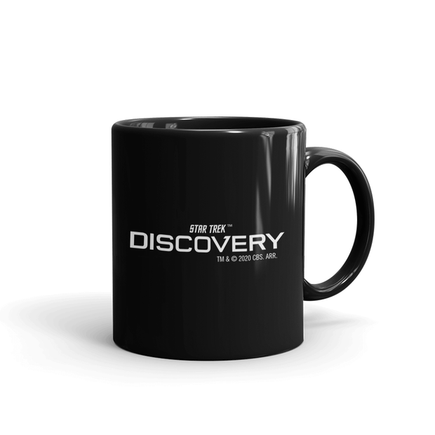 Star Trek: Discovery Holding A Grudge Black Mug | Official CBS Entertainment Store