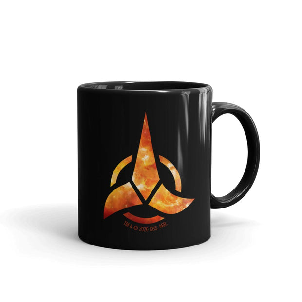 Star Trek: Discovery Klingon Logo Black Mug | Official CBS Entertainment Store