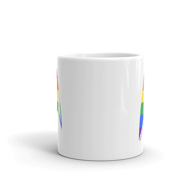 Star Trek: Discovery Pride Delta White Mug | Official CBS Entertainment Store