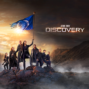 Star Trek: Discovery Season 3 Keyart Sherpa Blanket | Official CBS Entertainment Store