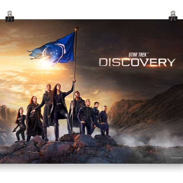 Star Trek: Discovery Season 3 Keyart Premium Satin Poster | Official CBS Entertainment Store