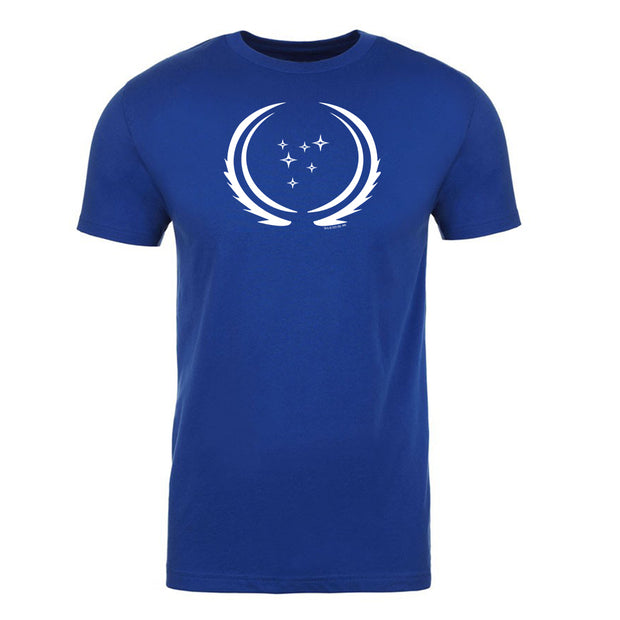 Star Trek: Discovery Season 3 United Federation of Planets Flag Adult Short Sleeve T-Shirt | Official CBS Entertainment Store