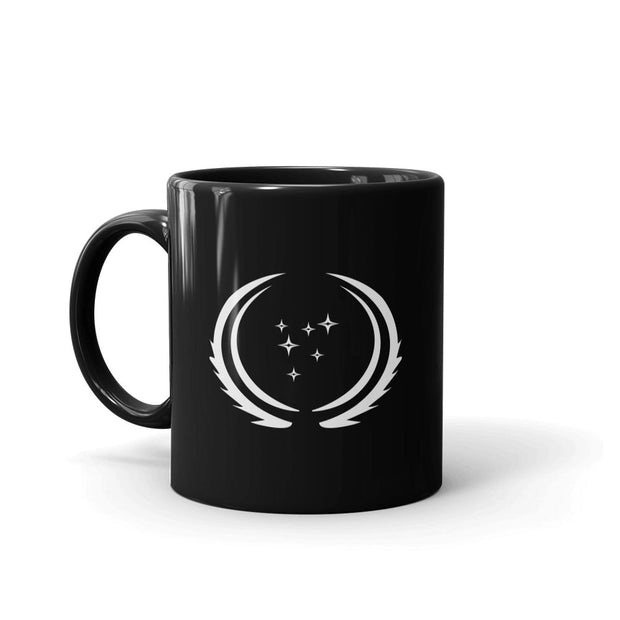 Star Trek: Discovery Season 3 United Federation of Planets Flag Black Mug | Official CBS Entertainment Store