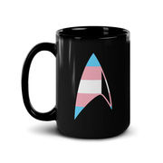 Star Trek: Discovery GLAAD Delta Black Mug | Official CBS Entertainment Store
