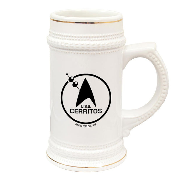 Star Trek: Lower Decks Cerritos Bar Logo 20 oz Ceramic Beer Stein | Official CBS Entertainment Store