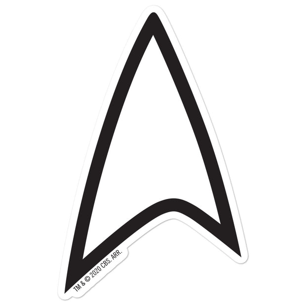 Star Trek Lower Decks Delta Die Cut Sticker | Official CBS Entertainment Store