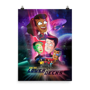 Star Trek: Lower Decks Crew Key Art Premium Satin Poster