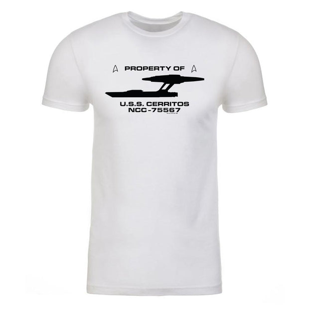 Star Trek: Lower Decks Property Of Adult Short Sleeve T-Shirt | Official CBS Entertainment Store