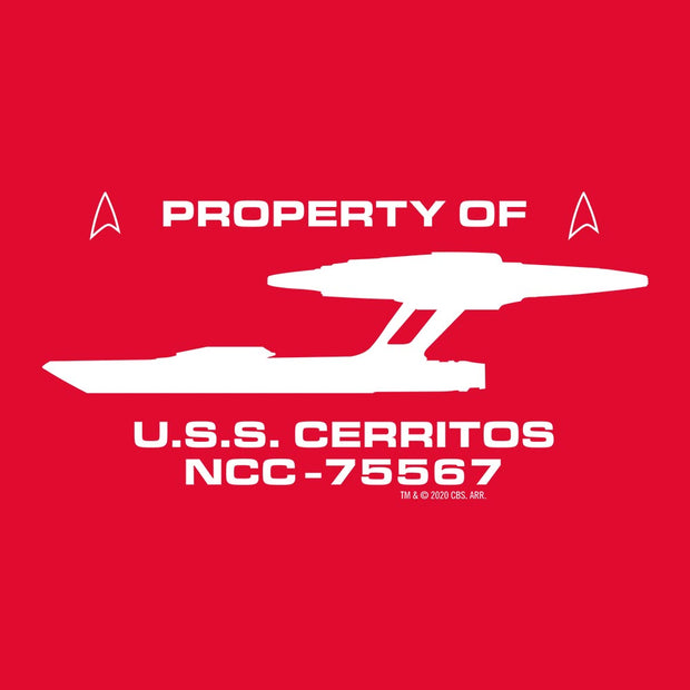 Star Trek: Lower Decks Property Of Women's Short Sleeve T-Shirt | Official CBS Entertainment Store