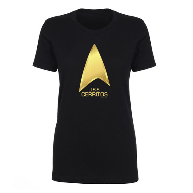 Star Trek: Lower Decks U.S.S Cerritos Women's Short Sleeve T-Shirt | Official CBS Entertainment Store