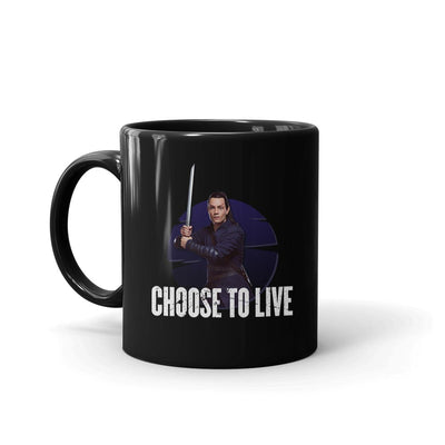 Star Trek: Picard Elnor Choose To Live Black Mug