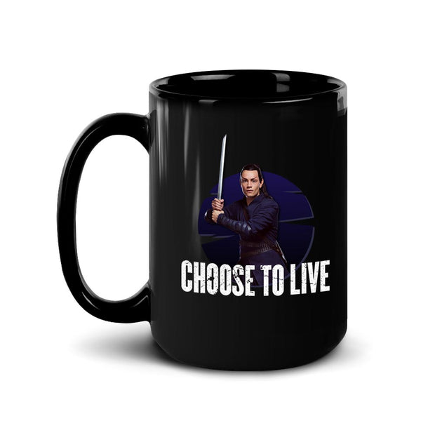 Star Trek: Picard Elnor Choose To Live Black Mug | Official CBS Entertainment Store
