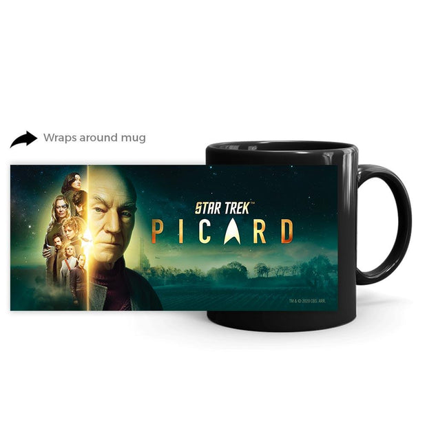Star Trek: Picard Cast Vineyard Black Mug | Official CBS Entertainment Store
