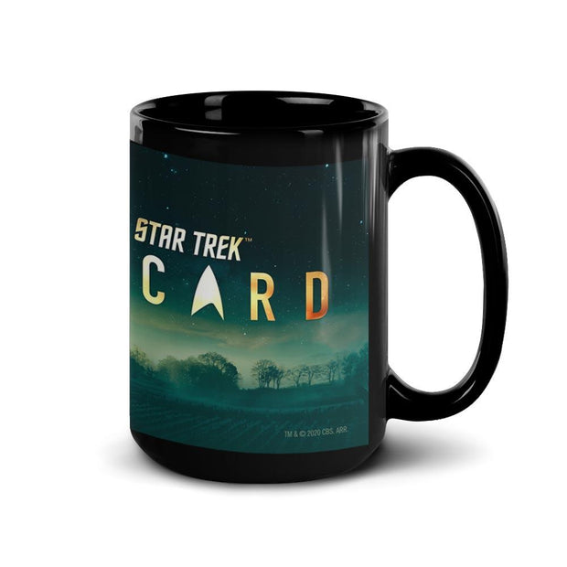 Star Trek: Picard Cast Vineyard Black Mug