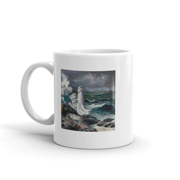 Star Trek: Picard Daughter Painting By Data White Mug | Official CBS Entertainment Store