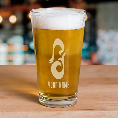 Star Trek: Picard La Sirena Personalized Laser Engraved Pilsner Glass