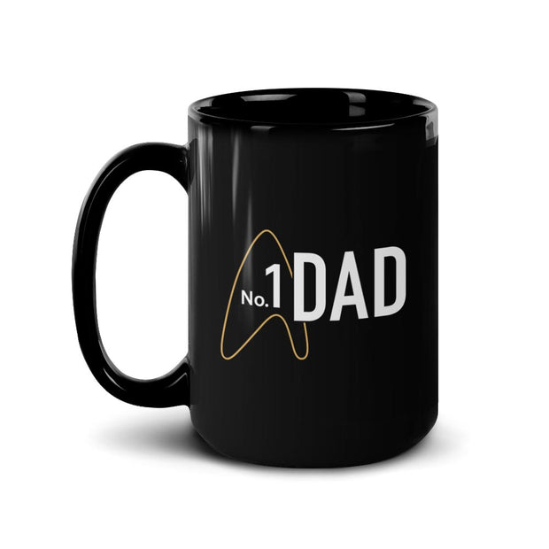 Star Trek: Picard No.1 Dad Black Mug | Official CBS Entertainment Store