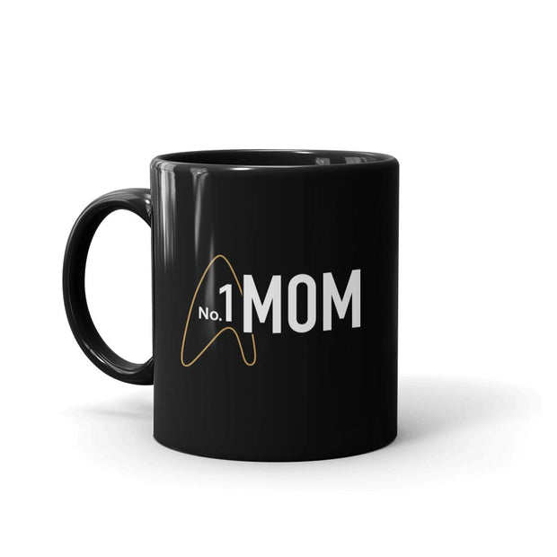 Star Trek: Picard No.1 Mom Black Mug