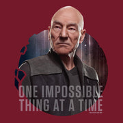 Star Trek: Picard One Impossible Thing At A Time Adult Short Sleeve T-Shirt