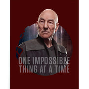 Star Trek: Picard One Impossible Thing At A Time Premium Satin Poster