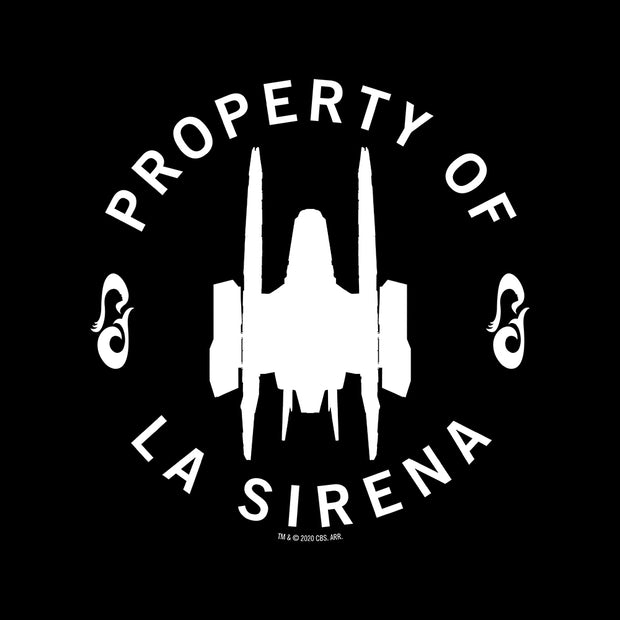 Star Trek: Picard Property of La Sirena Adult Short Sleeve T-Shirt