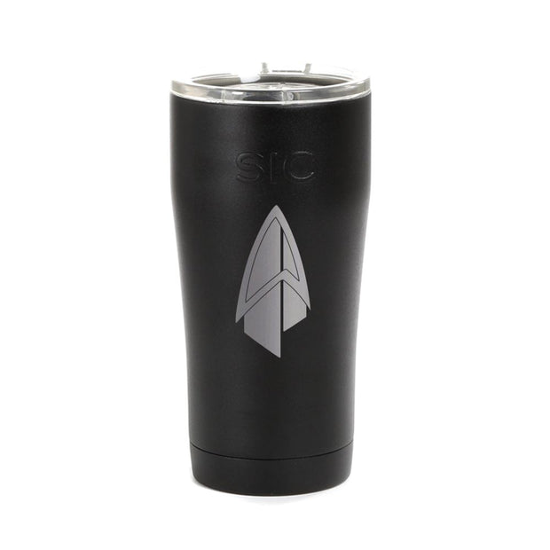 Star Trek: Picard Starfleet Badge Laser Engraved SIC Tumbler